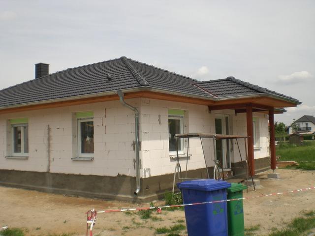 zimmerei korth dachst hle bungalow mit integrierter. Black Bedroom Furniture Sets. Home Design Ideas
